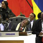 Mugabe and his delegation 'sleeps' through Trump's nuclear war speech