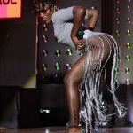 "Ebony rocks stage with ""No Pants"" Outfits"