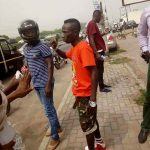 Patapaa knocks down two people with his brand new car