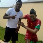 Asamoah Gyan honoured with bizarre statue