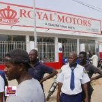 Stunning Daylight Robbery Armed Men storms Royal Motors