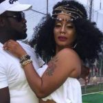 Afia Schwarzenegger teased in new music video starring Abrokwah and his new girlfriend