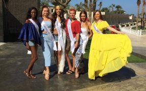 Princess of the Globe Ghana Thelma Azasoo in Egypt for Top Model of the World