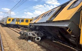 South Africa train collision kills 3, dozens injured