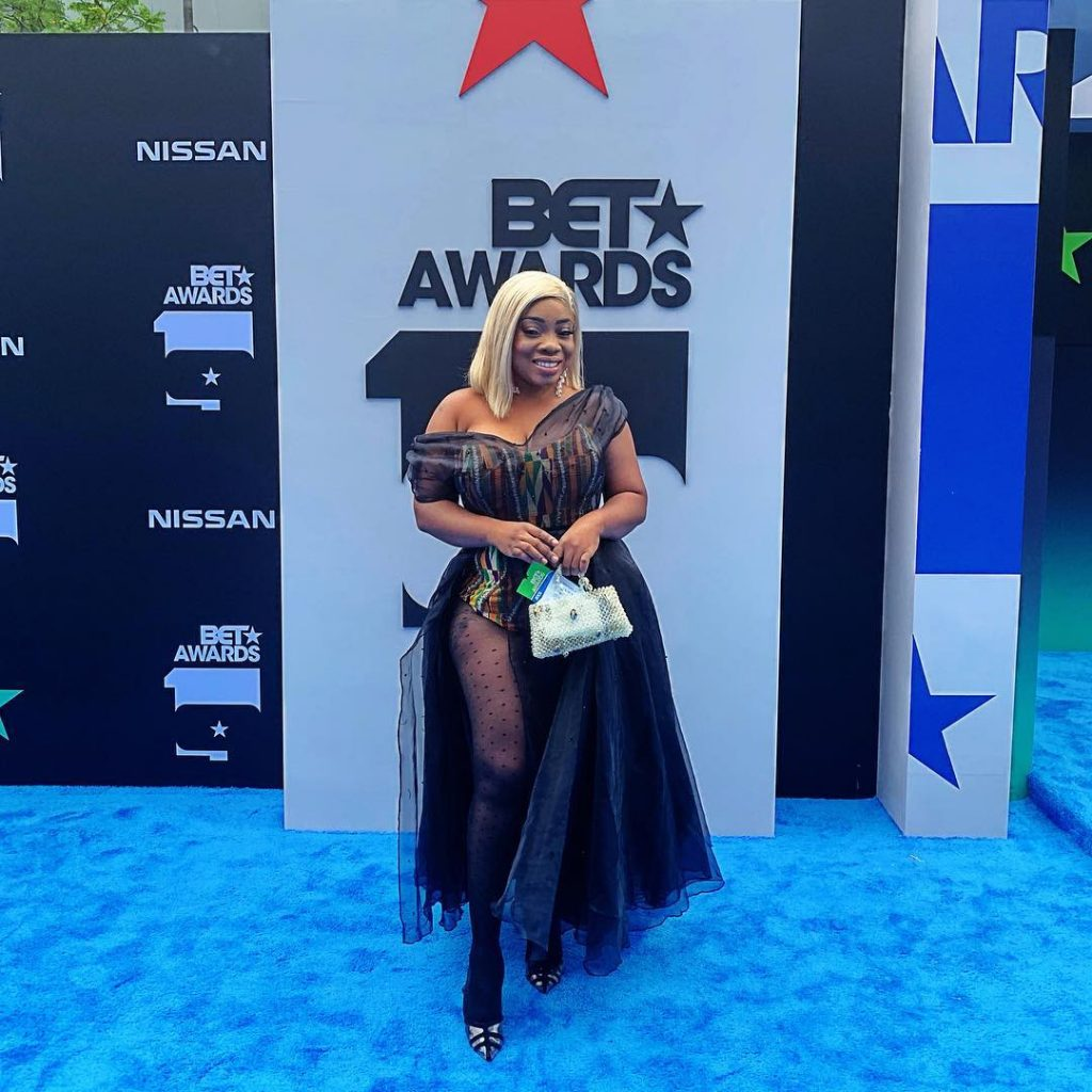 Moesha Boduong embarrassed at 2019 BET awards