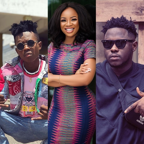 Strongman-Medikal beef: Fans want Serwaa Amihere off screens