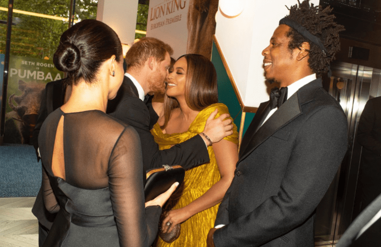 Beyoncé: The Lion King Premieres in London - Photos