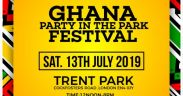 Mr Eazi, Kidi, Lamisi, Others to perform at Ghana Party in the Park