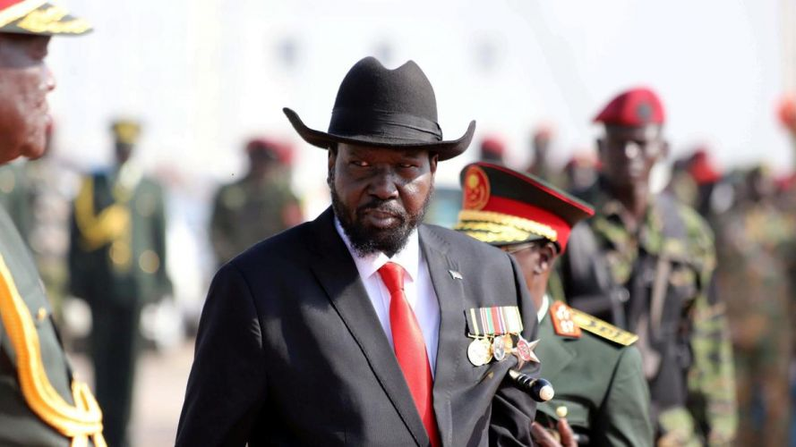 South Sudan president 'apologises for failing to pay civil servants'