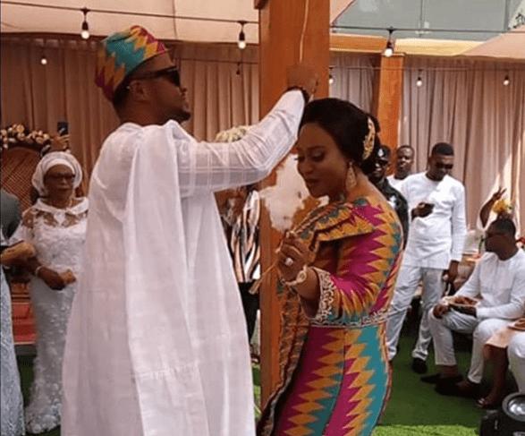 Dome Kwabenya MP, Adwoa Safo ties the knot