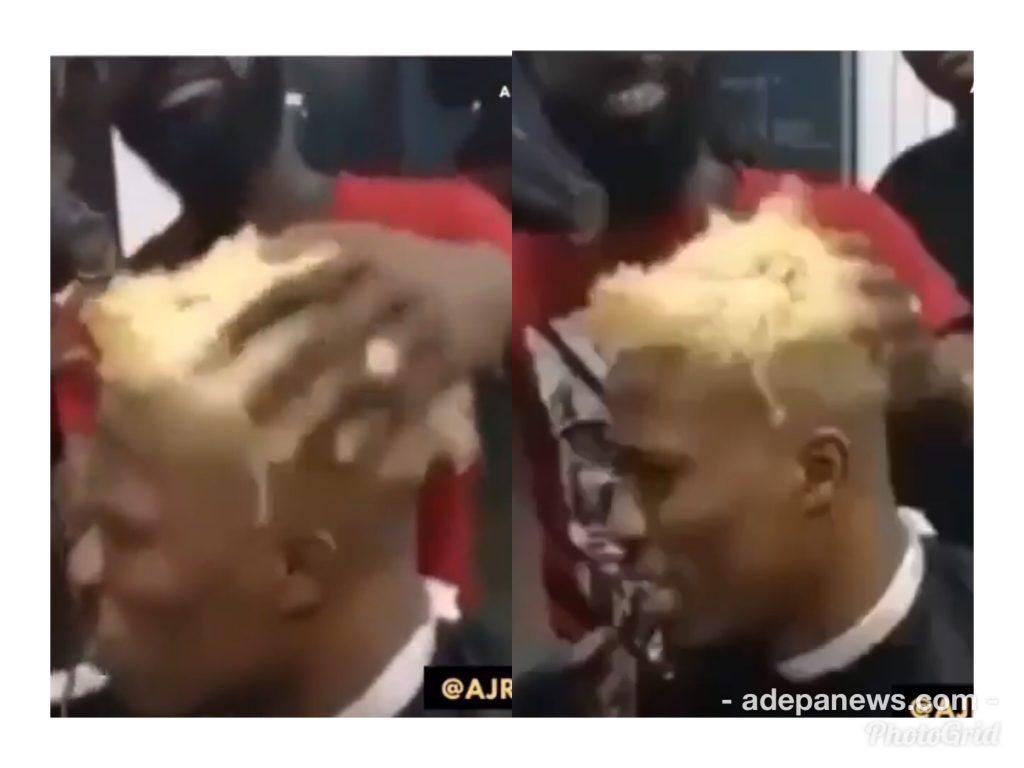 Kwesi Arthur debut blonde hairstyle