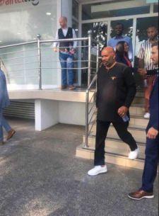 Year of Return US Comedian Steve Harvey arrives in Ghana