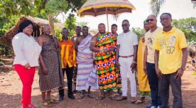Chief of Kunsu gifts Gov't 300 acres of land for construction of film village