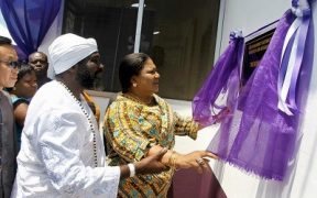 First Lady Rebecca Akufo-Addo refurbishes, inaugurates Osu Maternal Home