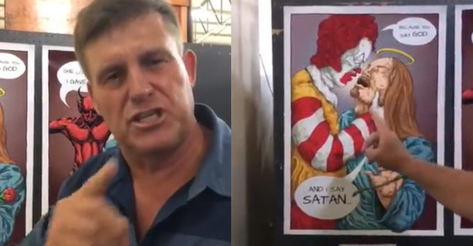 South African Christian school criticized for exhibiting 'satanic artwork'