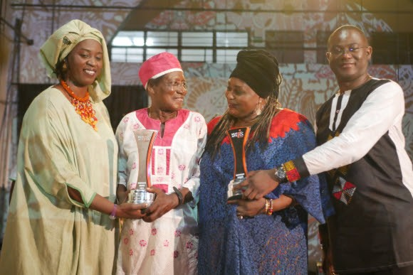 Ebo Taylor and Bibie Brew Receives Honorary Award at #ACCES2019 music conference