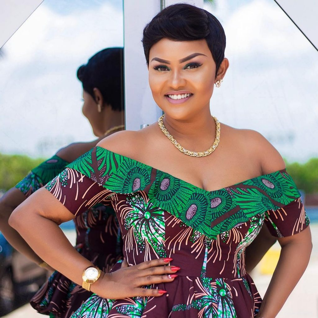 I left my house at Kwabenya because of bad roads – Nana Ama McBrown