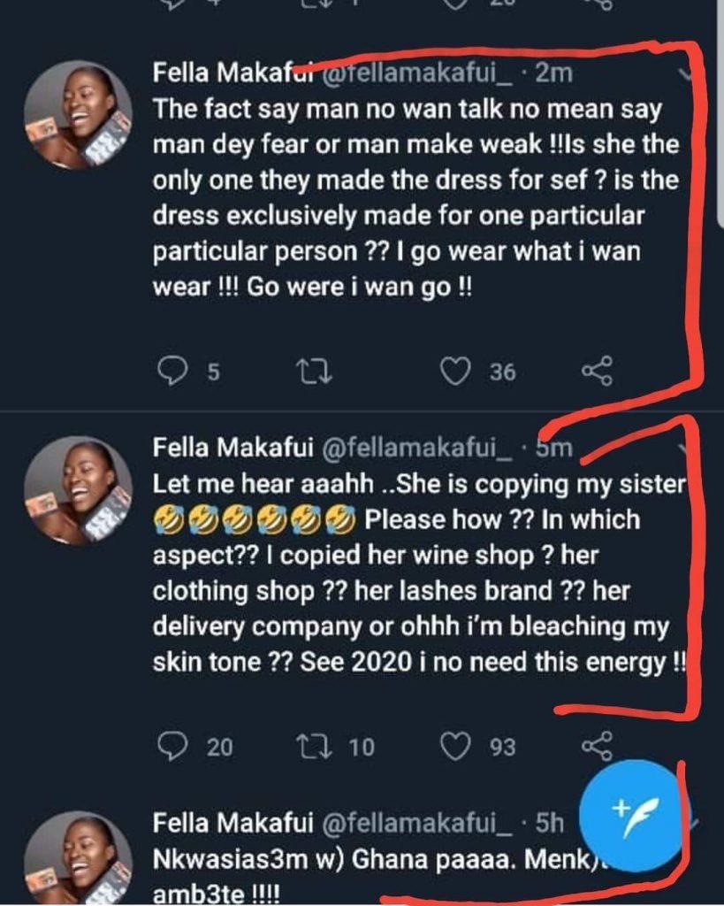 3 Times Fella Makafui Copied Medikal's Ex-lover Sister Derby