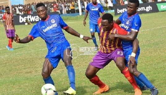 Liberty Professionals-Hearts clash