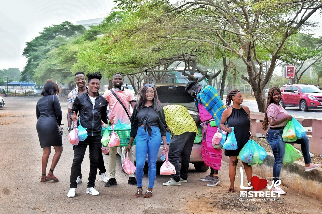 Feast of Love; GlennSamm and Friends hangout with less privileged in Accra