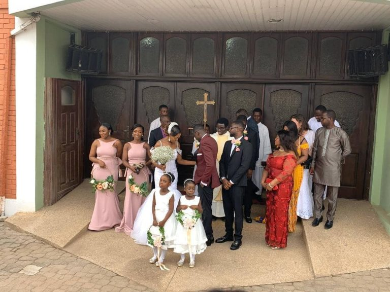 Gospel Singer Noble Nketia weds longtime girlfriend