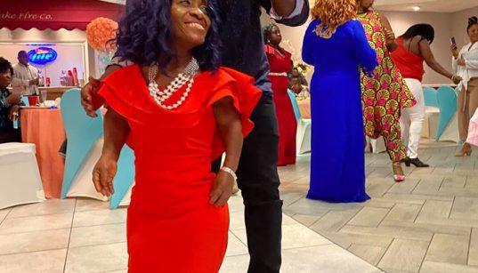 Adwoa Smart celebrates birthday in the US