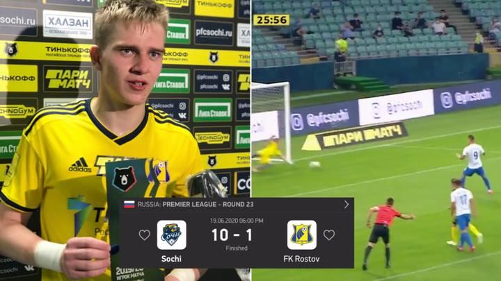 Rostov Teenage Goalkeeper