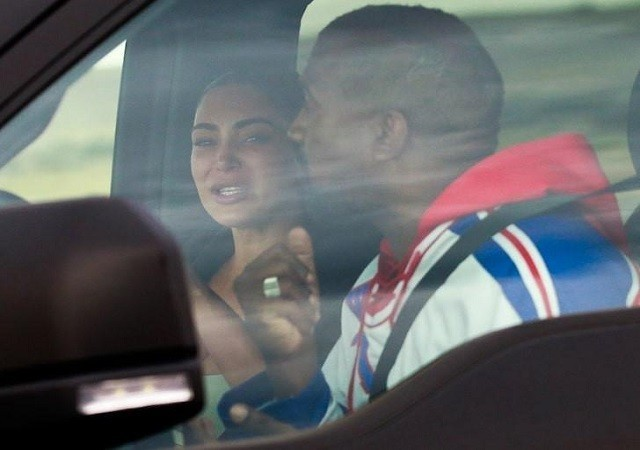 Kim Kardashian Breaks Down As She Reunites With Kanye West