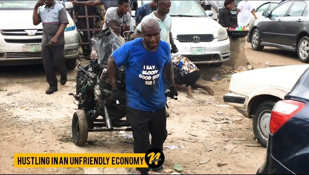 Hustling In An Unfriendly Economy, Nigeria