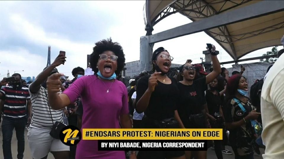 End SARS Protest: Youths on Edge Demands Better From Govt