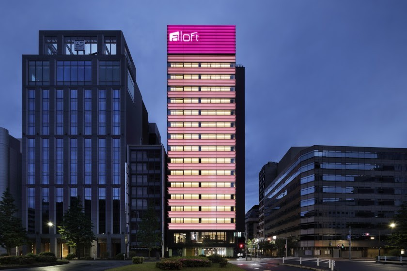 Aloft Hotel in Japan