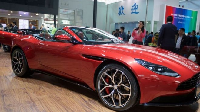 Aston Martin revs up for London stock listing