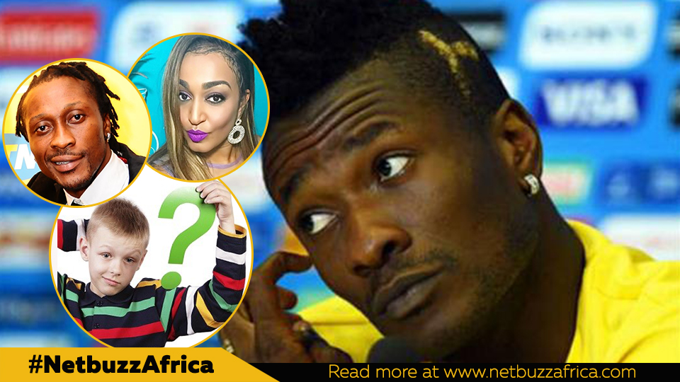 Asamoah Gyan's secret child in Italy, new 'wife' and more DNA tests revealed