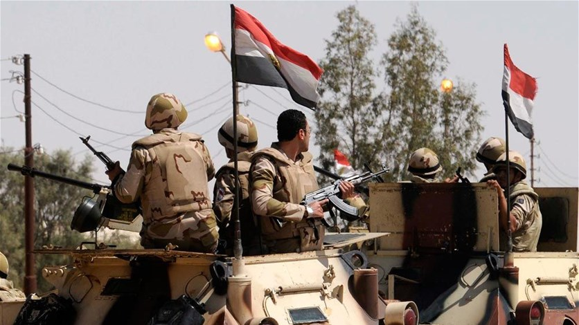 Egyptian forces kill 12 suspected militants in Sinai