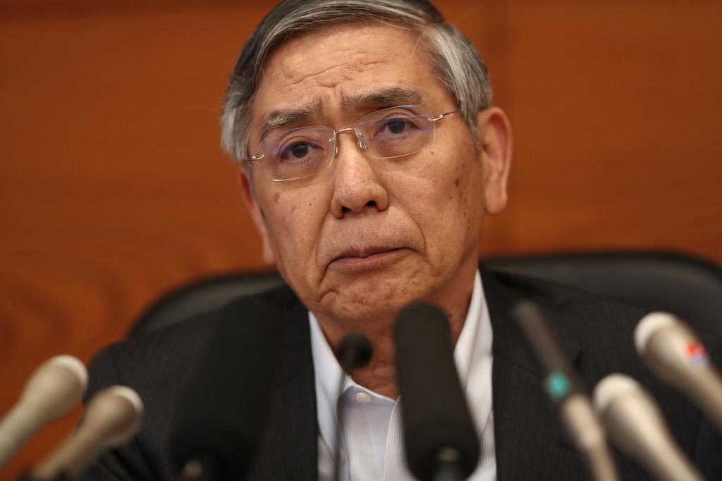 Japan central bank chief Kuroda says no rate hike for 'long time'