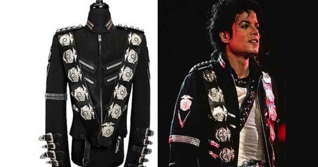 Michael Jackson's iconic 'Bad' jacket up for auction