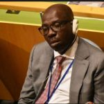 Nigeria's 'hard worker' governor dozes during Buhari's UN address