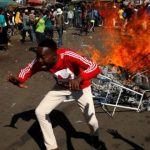 One person shot dead as army clashes with opposition supporters in Zimbabwe