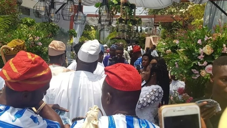 Photos from Becca's traditional wedding ceremony