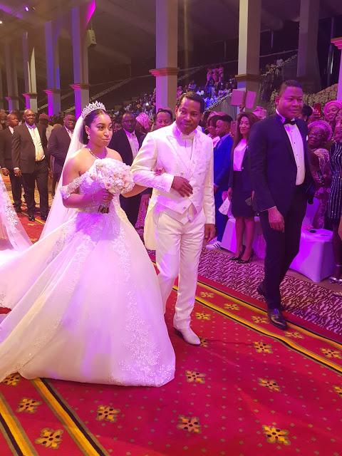 Ghanaian businessman Philip marries Pastor Chris' first daughter Sharon